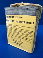 USAF/USN MARK 2 SEA WATER DESALTER KIT- UNOPENED