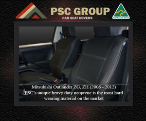 Seat Cover Mitsubishi Outlander Front(FB+MP) & Rear Waterproof Premium Neoprene