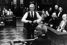 Paul Newman als Frank Galvin 11x17 Mini Poster Im Gerichtssaal mit Jury The