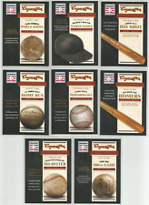 2012 Panini Cooperstown Famous Moments Lot 8 Cards 1 2 6 8 13 15 16 20