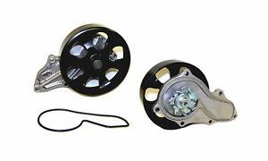 Engine Water Pump-DOHC, Eng Code: K24A1, VTEC, 16 Valves DNJ WP216