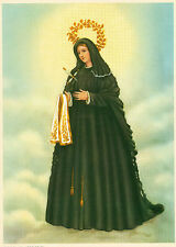 """Catholic Print Picture 7 DOLORS Sorrowful Virgin Mary ready to be framed 7.5x10"""""""