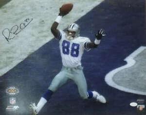 Michael Irvin Autographed/Signed Dallas Cowboys 16x20 Photo SB XXX JSA 14653 PF