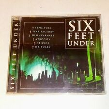SIX FEET UNDER Mixed Death Metal Artists CD - EXCELLENT CONDITION
