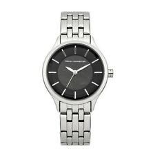 FRENCH CONNECTION WATCH 30% SALE! Ladies 50mWR Blk MOP with S/STEEL RRP $219