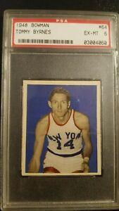 1948 Bowman Tommy Byrnes #64 PSA 6 High #