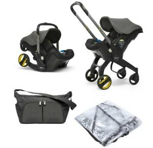 Brand new in box Doona car seat stroller in GREY HOUND + EXTRAS group 0+