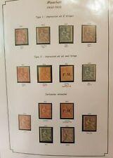 Collection des timbres Mouchon