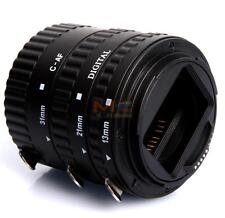 Meike Plastic ABS Auto Focus Macro Extension Tube Set for Canon D-SLR Camera
