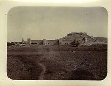 PHOTO ANCIENNE - VINTAGE SNAPSHOT - TAOURIRT RUINES DE LA KASBA MAROC 1911
