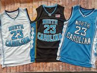 Michael Jordan 23 NORTH CAROLINA TARHEELS Basketball Jersey S-3XL