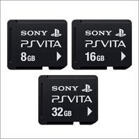 Sony  Original Memory Card 32GB,16GB,8GB For Playstation PS Vita