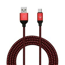 Braided Micro USB-C Type-C 3.1 Fast Charging Cable Cord Sync for Android Samsung
