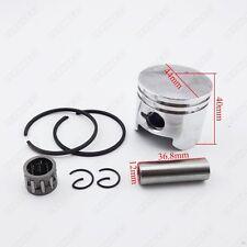 44mm Piston 12mm Pin Ring Needle Bearing For 49cc Mini Quad ATV Pocket Dirt Bike