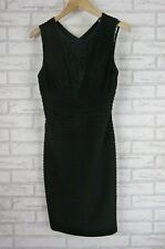 CALVIN KLEIN Wiggle Dress Sz 8 (10-12) Black with Lace