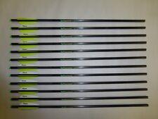 """12 Victory Archery XBolt 20"""" Carbon Halfmoon Crossbow Arrow Bolts Dozen"""