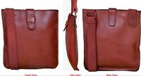 Men Shoulder Bag,Leather Messenger Handbag Crossbody Bag for Men Purse iPad Bag