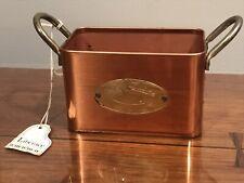 LIBERACE OWNED Brass Box/planter