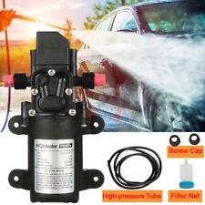 12v Sprayer Self Priming Water Pump Diaphragm Pump High Pressure 130psi