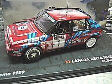 Lancia Delta Intégrales 16 V Rallye San Remo 1989 Biasion Red Martini Ixo Al 1:43