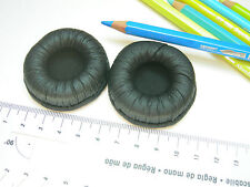 2 Ohrpolster 50 mm f. zB für Sennheiser PXC 150, PXC 250, PXC 250-II. Kunstleder