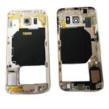Housse Central Intermédiaire Samsung Galaxy S6 SM-G920F Doré Original