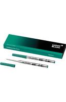 Montblanc Kugelschreibermine grün M Ballpoint Pen-Refill 2er Pack