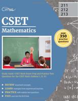 CSET Mathematics Study Guide: CSET Math Exam Prep and Practice Test BRAND NEW