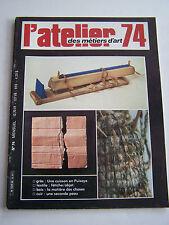 L ' ATELIER DES METIERS D ' ART N° 74 . GRES , CUIR  .