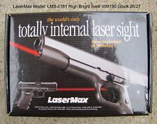 New LaserMax Guide Rod Totally Internal Handgun Laser Sight Glock 26/27 Hi-Brigh