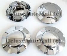 Chrome New Wheel Center Caps (Set of 4) FOR 1999-2003 Ford Expedition