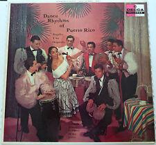 Rogelio Y Su Orchesta - Dance Rhythms of Puerto Rico - DECCA vinyl LP