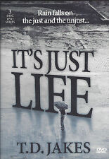 It's Just Life - Rain falls on the Just and Unjust 3 Dvd T.D. Jakes- Sale  Rare!