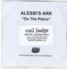 (BY361) Alessi's Ark, On The Plains - 2011 DJ CD