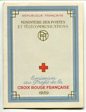 CARNET N° 2008 **  FRANCE CROIX ROUGE 1959  COTE 50 EUROS