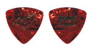 Buddy Guy Signature Brown Faux Tortoise Guitar Pick - 2000 Tour