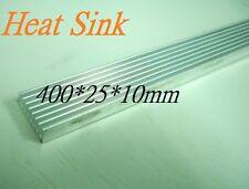 400x25x10mm Heatsink, Aluminum Heat-Sink, Heat Sink for LED, Power Transistor