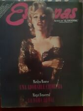 Marilyn monroe on cover magazine. Venezuelan Estampas 2002