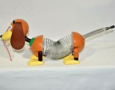 Vintage 1999 James Industries Disney Pixar Toy Story 2 Slinky Dog Pull Toy Euc