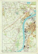 Russian Soviet Military Topographic Maps-ANTWERPEN-southwest (Belgium), ed. 1985