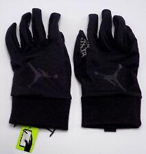 Nike Jordan Men's Sphere Running Gloves Black/Dark Grey Medium