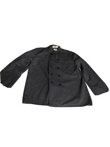 Chef Coat 40 Reg Men's Ten Button Full Cut Kitchen Uniform