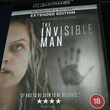 The Invisible Man (2020) 4K Ultra HD & Blu-ray Elisabeth Moss
