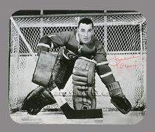 Item#3105 Jacques Plante Montreal Canadiens Facsimile Autographed Mouse Pad