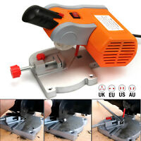 90W Mini Table Top Cut Off Miter Saw for Precision Cut Metal Wood Frame Molding