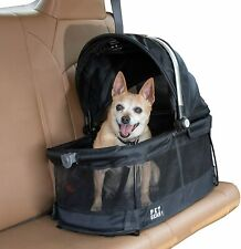 Pet Gear VIEW 360 Dog Cat Pet Carrier Car Seat in One Black