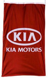 KIA-FLAG RED VERTICAL BANNER 5 X 3 FT 150 X 90 CM