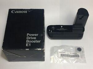 Genuine Canon Power Drive Booster E1 - for EOS-1, EOS-1N, EOS-1V Film Cameras