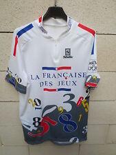 Maillot cycliste La Française des Jeux Sibille Tour 1997 vintage shirt XXXL 8