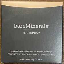 BAREMINERALS • BAREPRO •  PERFORMANCE WEAR POWDER  FOUNDATION • WARM LIGHT 07
